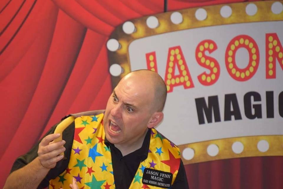 Jason Fenn- The magic man