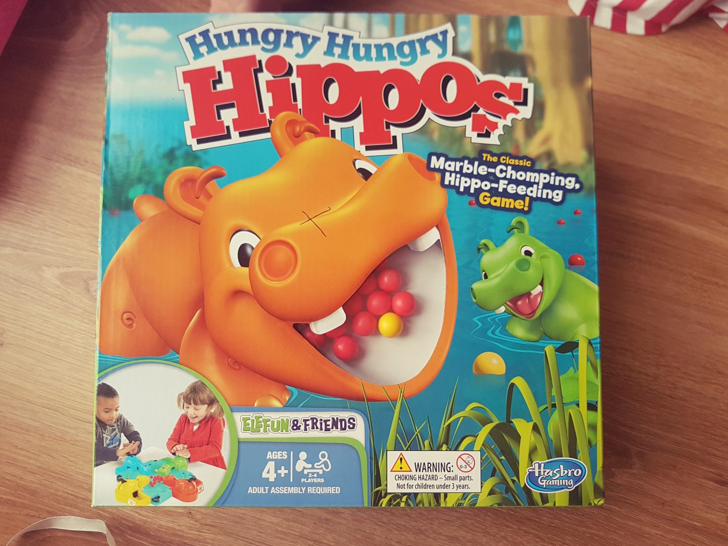 Hungry hippos by Hasbro review