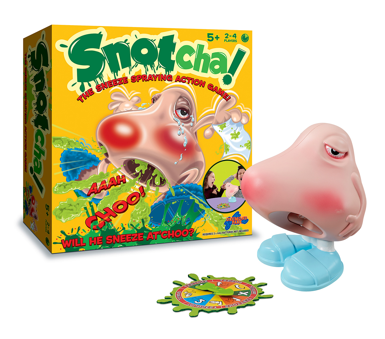 Snotcha! Game from Drumond park -Review and giveaway-