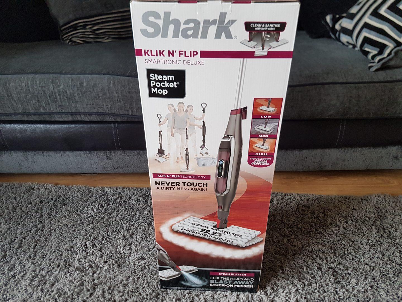 Shark Klik n' Flip Automatic Steam Pocket Mop S6003UK-My review