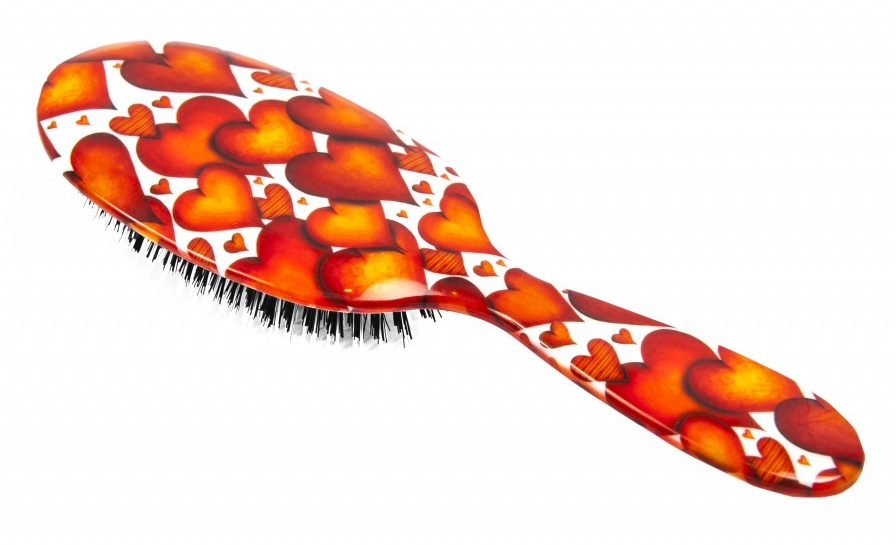 Rock and Ruddle Hairbrush valentines gift guide