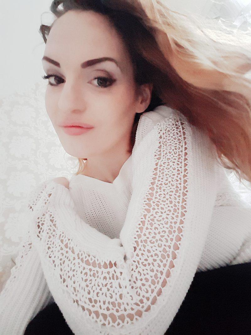 Damart lace jumper