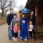 The Knight tribe visit Wicksteed Park