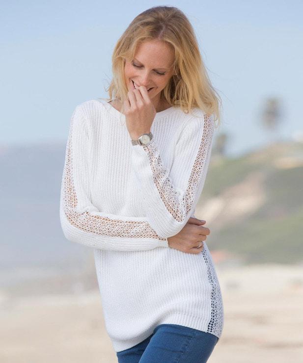 Lace jumper review