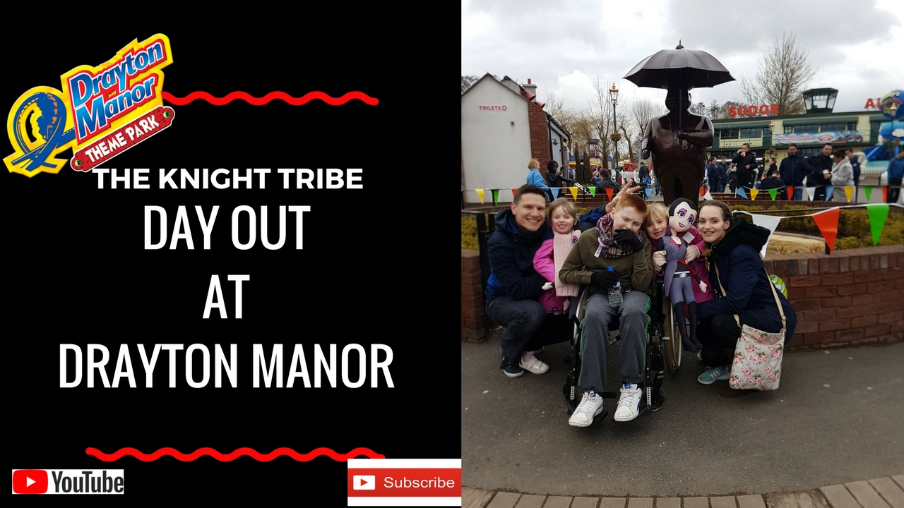Our day out at Drayton Manor Theme Park