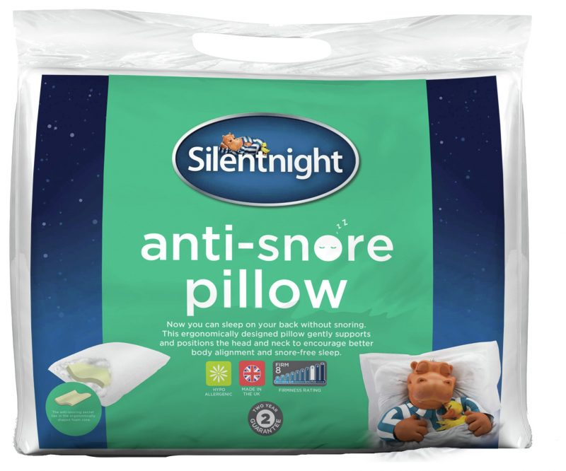 the knight tribe-anti snore pillow