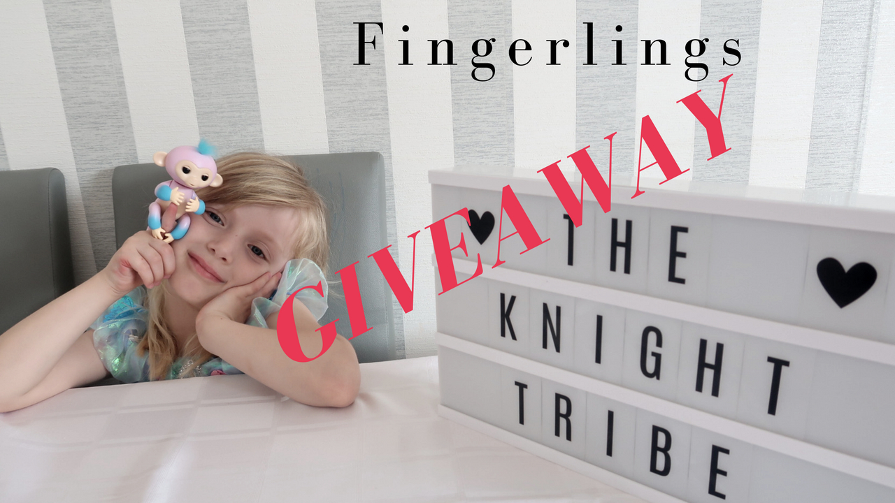 Two tone Fingerlings Monkey from WowWee review and giveaway !!!!