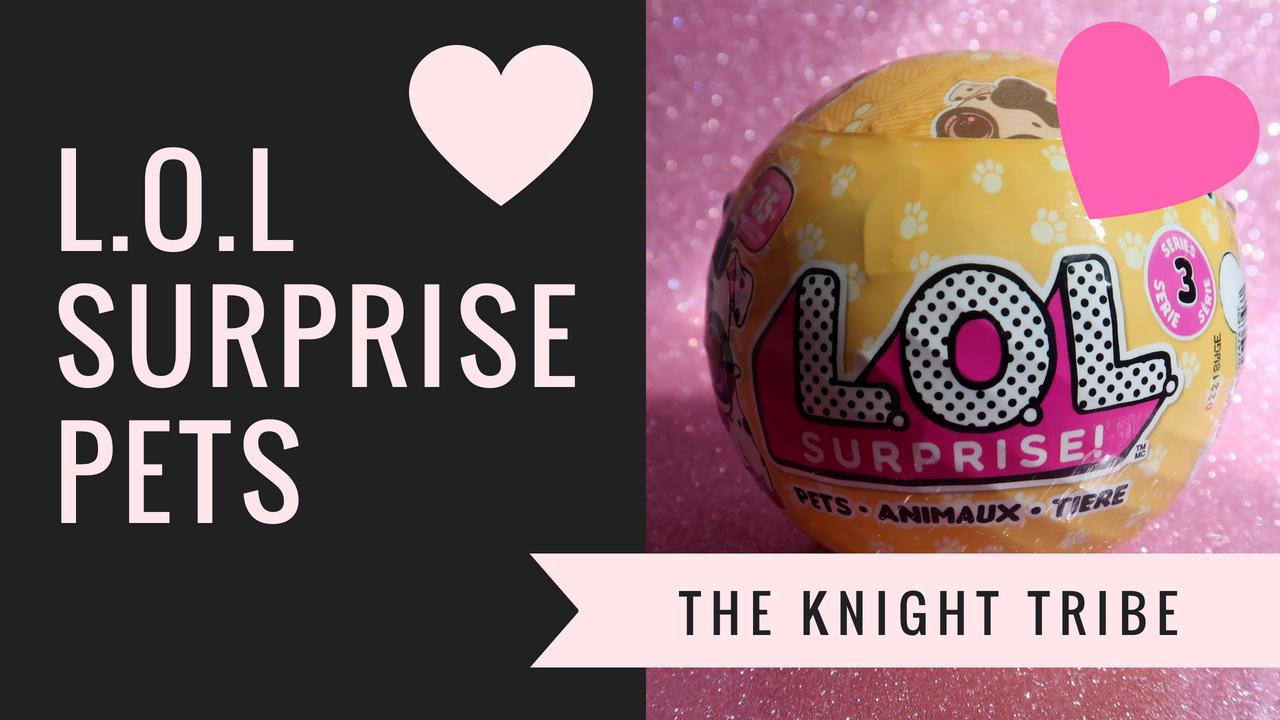 L.O.L Surprise Pets – Who did we get?