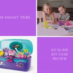 The knight tribe-so slime neon with glitter