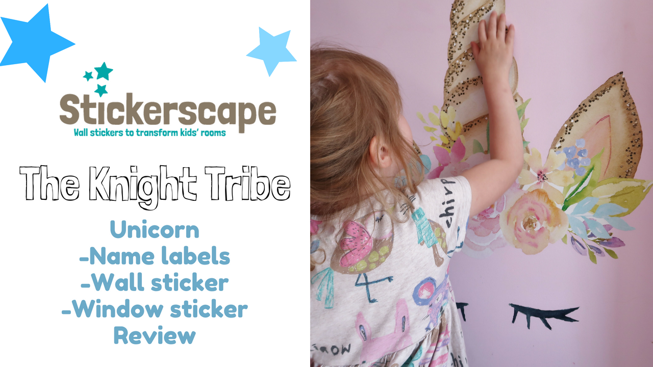 Stickerscape- Encouraging independence through name labels/ Using wall stickers to refresh a bedroom