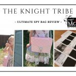 The Knight Tribe- Project mc2 spy bag