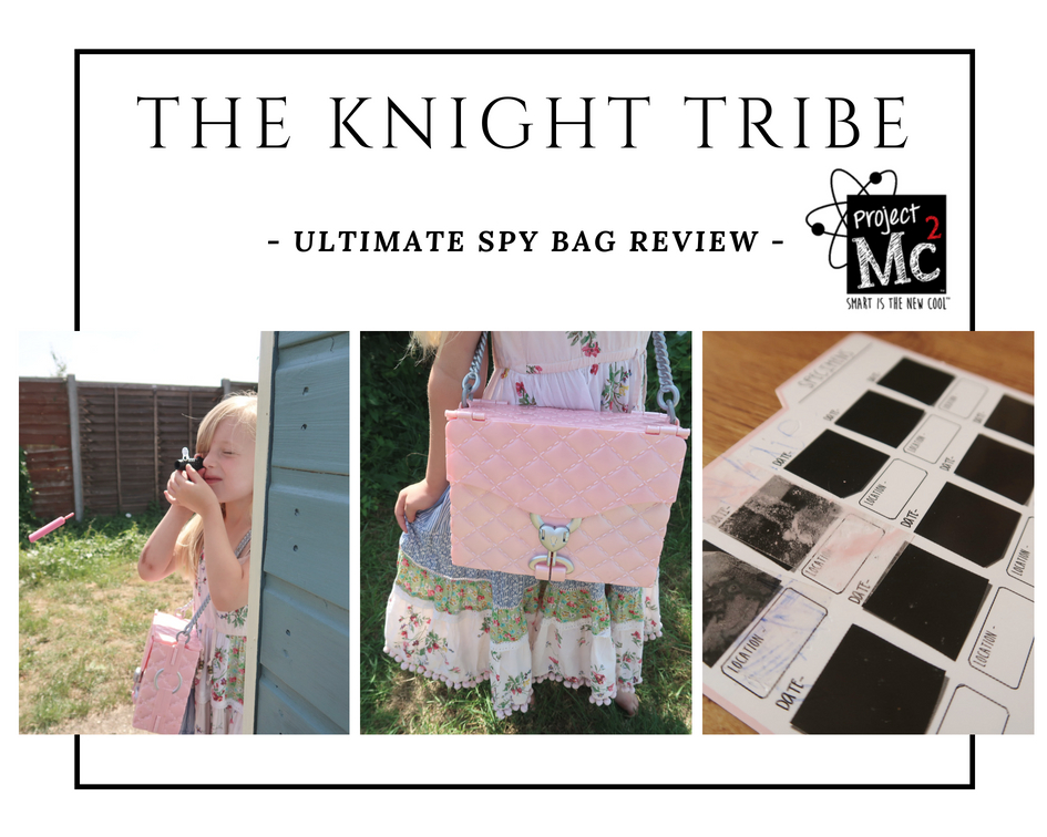 The Knight Tribe reviews -Project Mc2 Ultimate Spy Bag