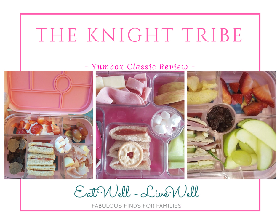 The Knight Tribe- Yumbox Classic from Eatwell UK- Our review