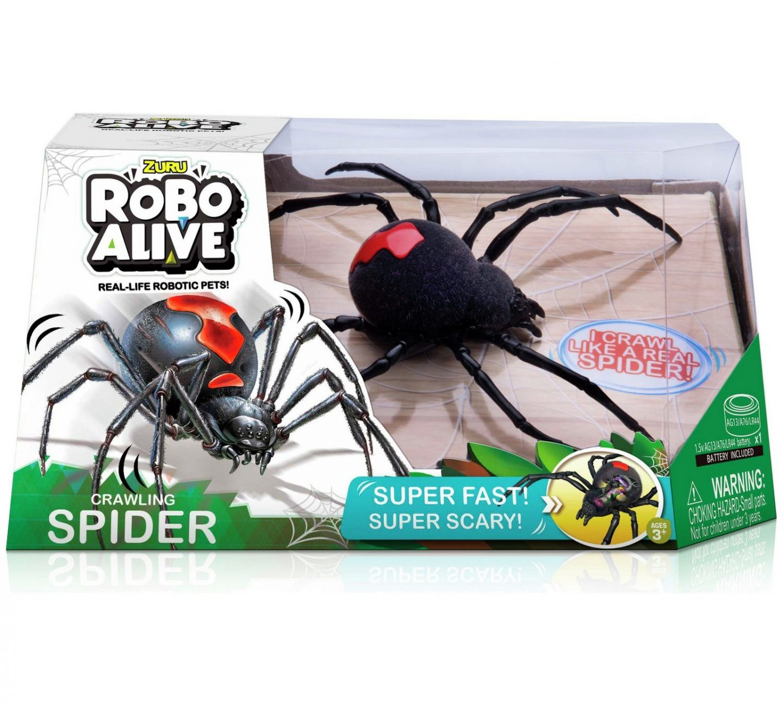 The knight Tribe- Zuru robo alive crawling spider