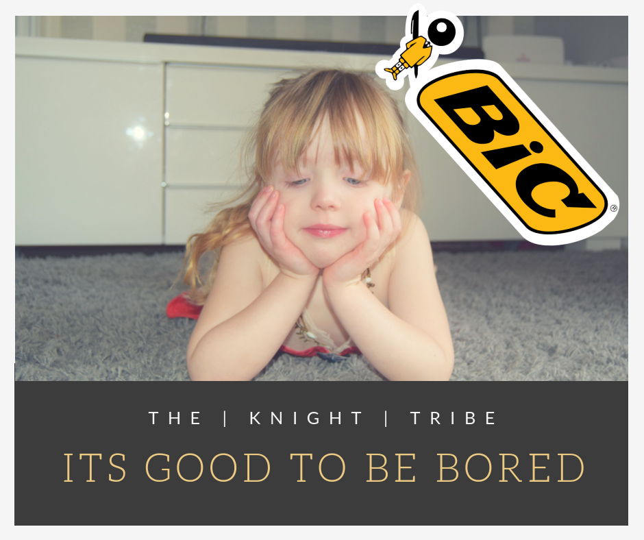 Its Good to be bored