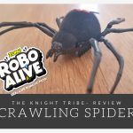 The knight Tribe- Zuru robo alive crawling spider
