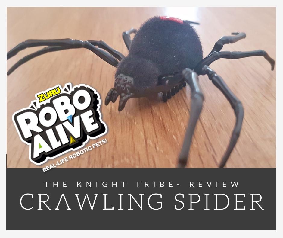 Creepy Zuru Robo Alive- Crawling Spider