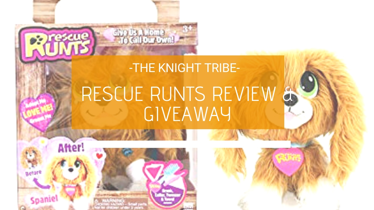 Rescue Runts from Bandai review and Giveaway
