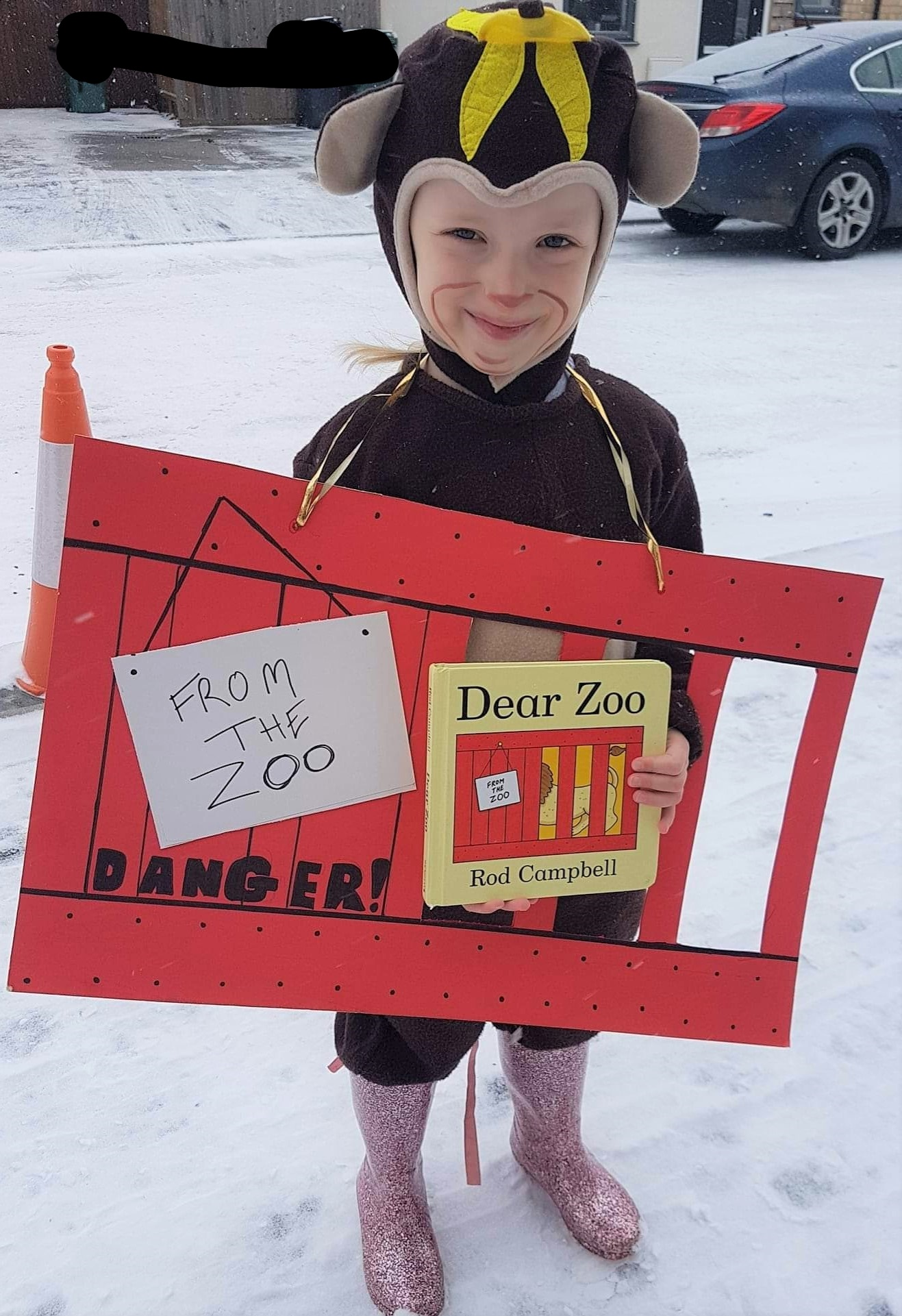 World Book Day | Dear Zoo Costume Idea