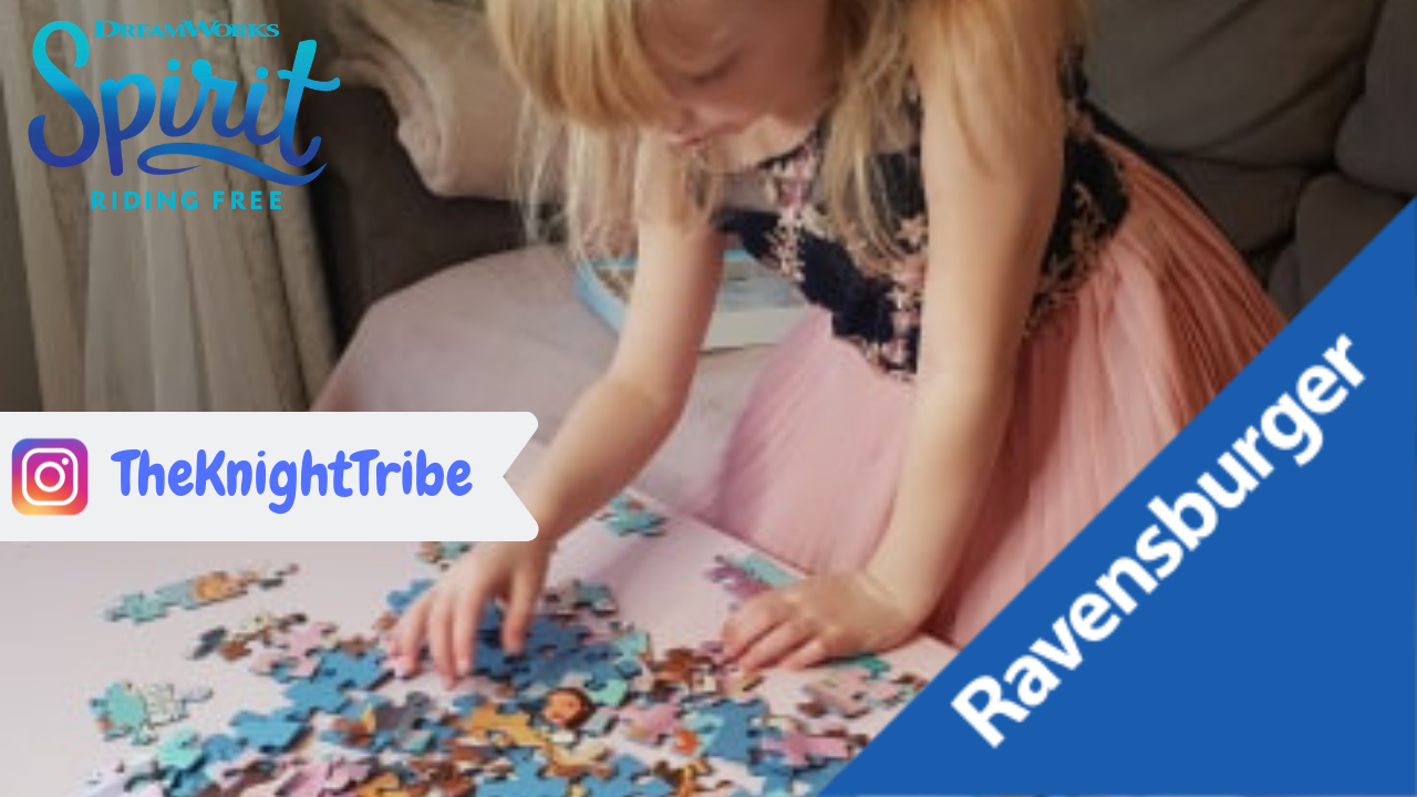 The Knight Tribe| Ravensburger Jigsaw Puzzle – Dreamworks Spirit