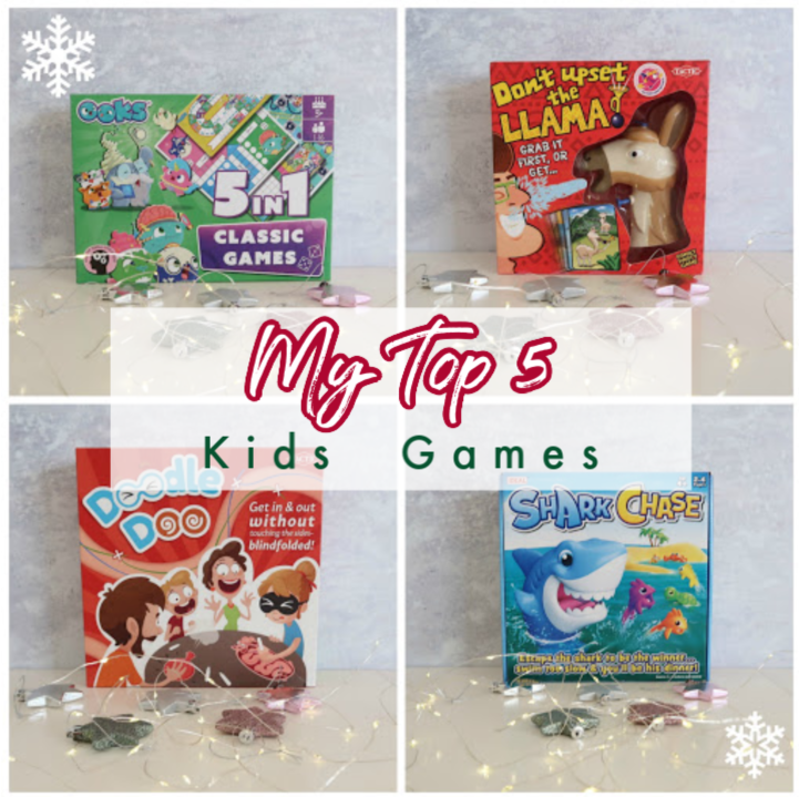 My top 5 fun games for kids