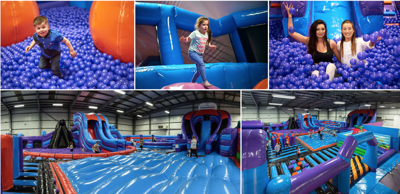 InflataNation Peterborough – New Inflatable theme park