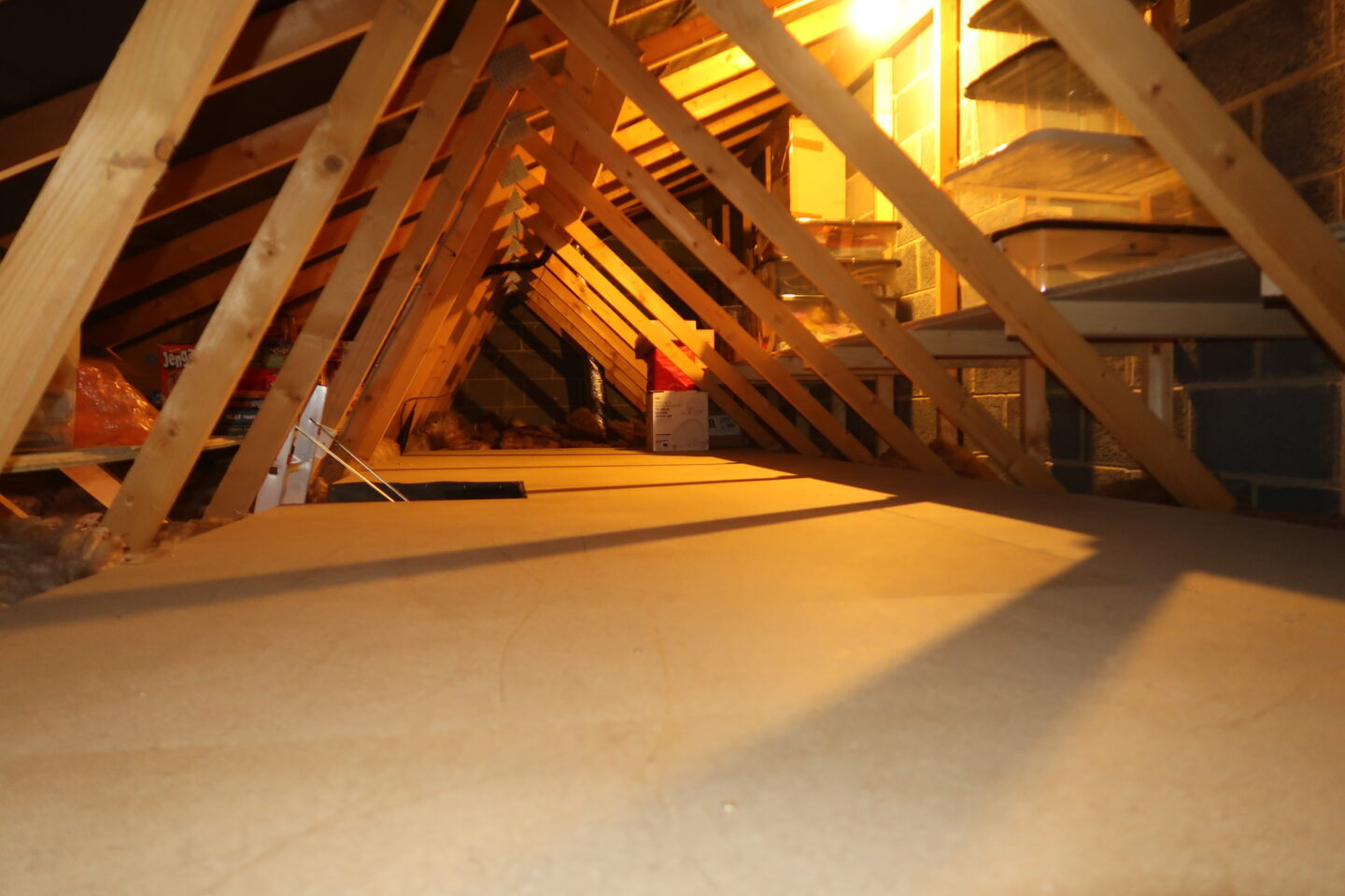 We had our loft boarded for storage space- Instaloft Review